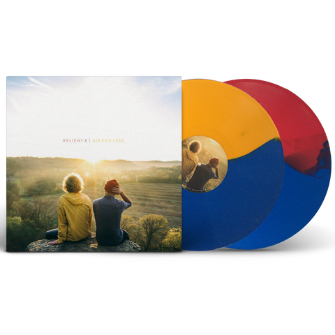 Relient K - Air For Free Vinyl Double LP (Split-Color Limited Edition)