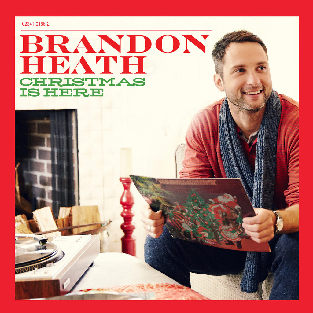 Brandon Heath - Christmas Is Here LP