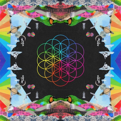 Coldplay - A Head Full Of Dreams 2LP (180 Gram Blue/Pink Vinyl + Download Card)