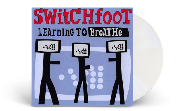 Switchfoot Learning to Breathe Vinyl Record White