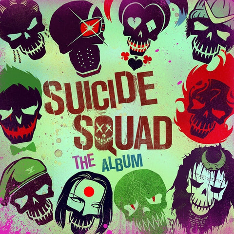 Suicide Squad Soundtrack 2LP