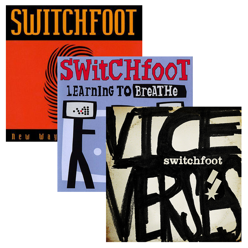 Switchfoot 3 Album Combo Pack (New Way to Be Human, Learning To Breathe & Vice Verses)