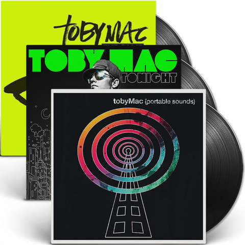 tobyMac Combo Pack -  Eye On It, Tonight & Portable Sounds 2LP's