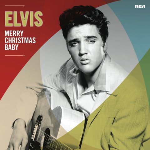 Elvis Presley - Merry Christmas Baby LP