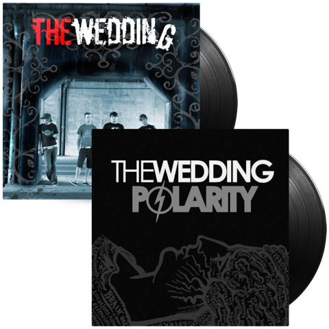 The Wedding 2 Album Combo (Self-Titled & Polarity 2LP's)