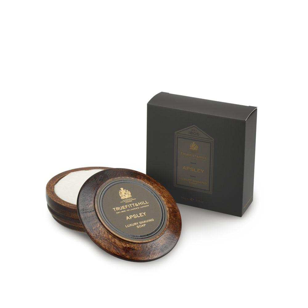 Apsley Luxury Shaving Soap In Wooden Bowl - Truefitt & Hill USA