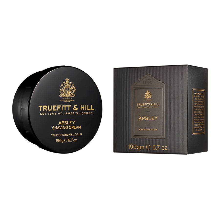 Apsley Shaving Cream - Truefitt & Hill USA