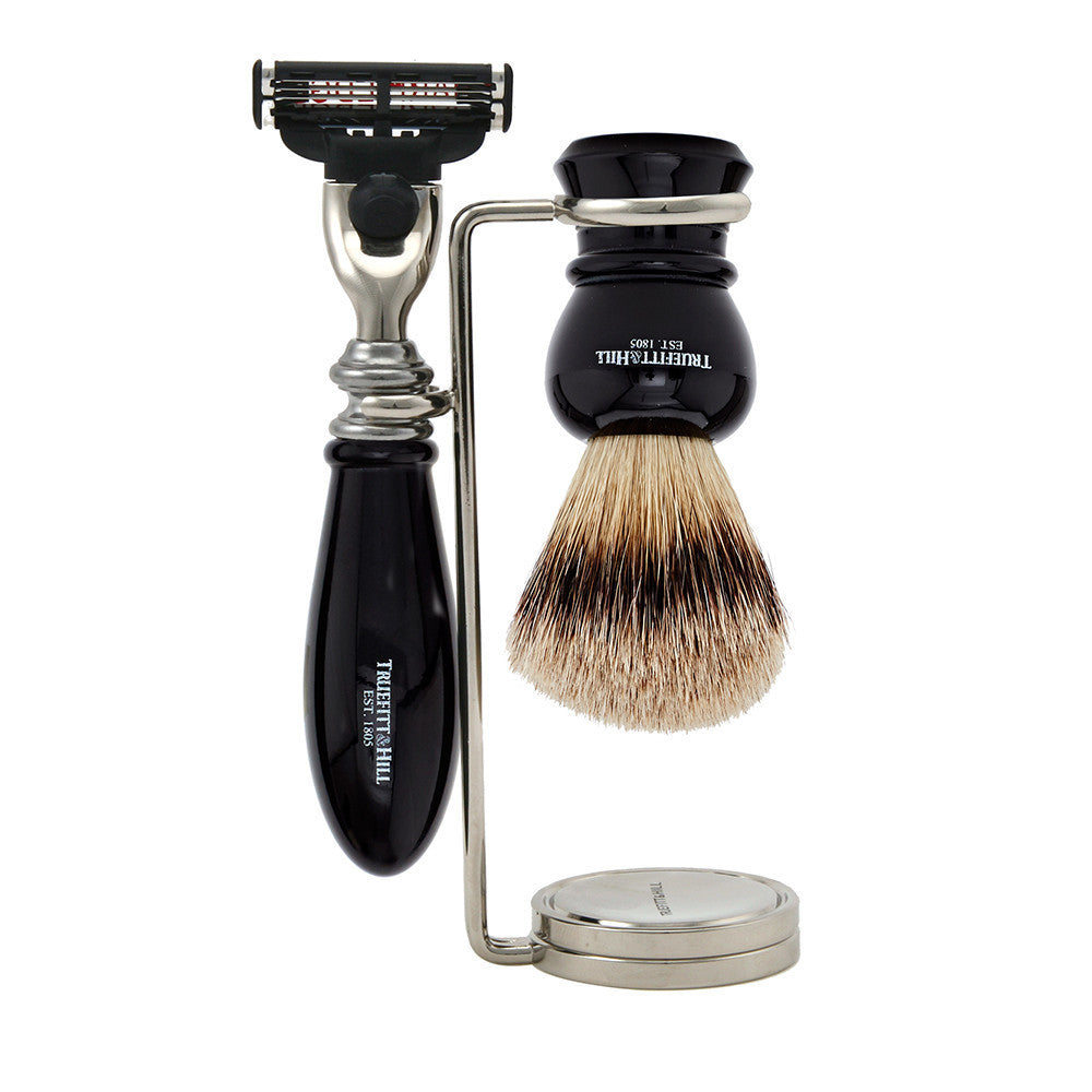Regency Collection - Shaving Brush & Razor Set - Truefitt & Hill USA