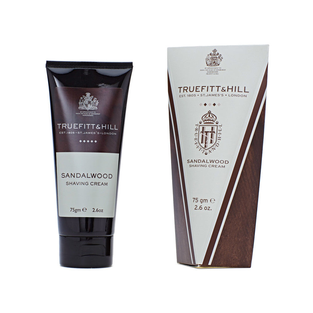 Sandalwood Shaving Cream Tube - Truefitt & Hill US
