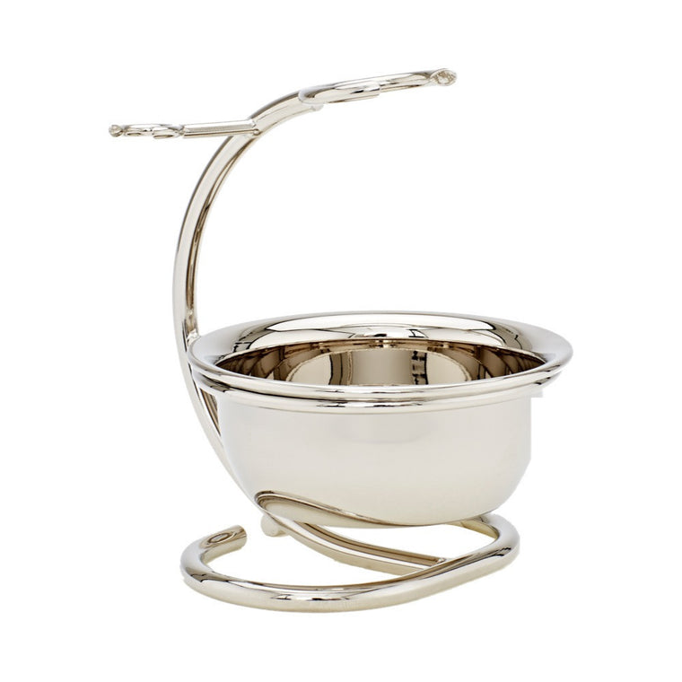 Chrome Shaving Stand with Bowl - Truefitt & Hill US