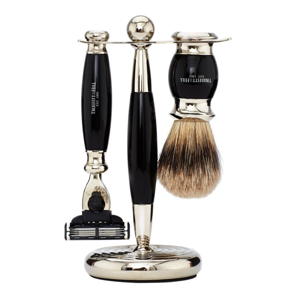 MTMenergy - Edwardian Collection - Shaving Brush & Razor Set