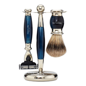 Edwardian Collection - Shaving Brush & Razor Set - Truefitt & Hill USA