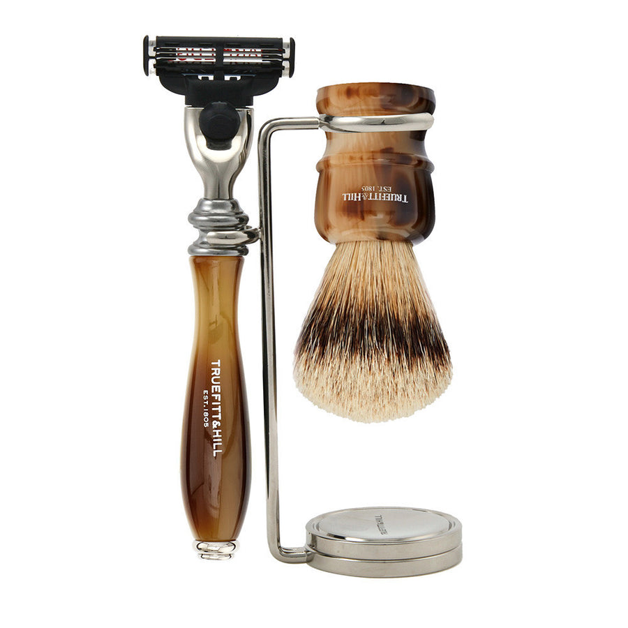 Wellington Collection - Shaving Brush & Razor Set - Truefitt & Hill USA