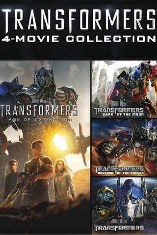 Transformers 4-Movie Collection (UV HDX) - Multiple Options Available