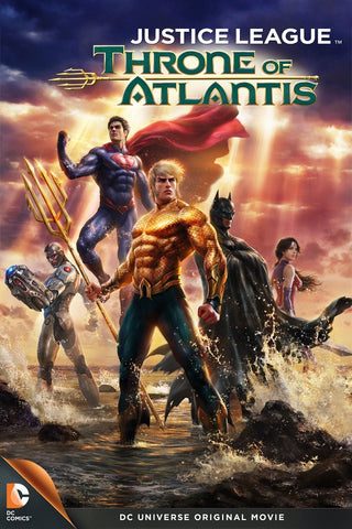 Justice League: Throne of Atlantis (UV HDX)
