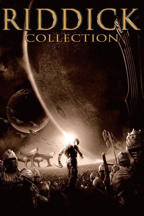 Riddick 3-Movie Collection (UV HDX) - Multiple Options Available