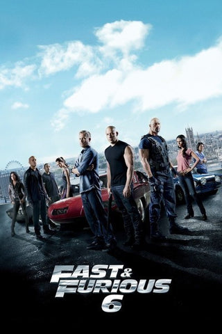Fast & Furious 6 (Extended Version) (UV HDX)