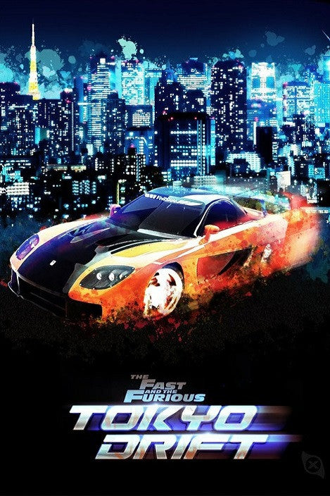 The Fast and the Furious: Tokyo Drift (Fast 3) (Vudu HDX)