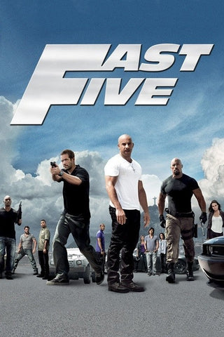 Fast Five (Extended Version) (Vudu HDX)