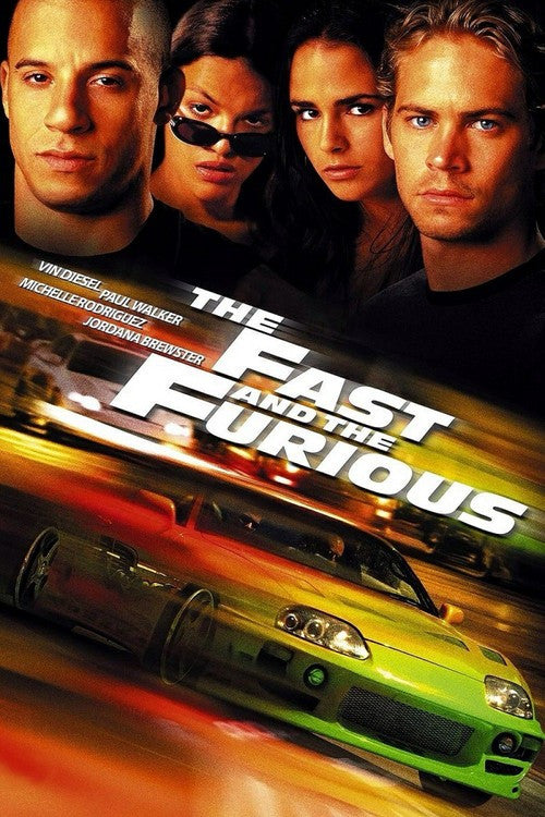 The Fast and the Furious (Fast 1) (Vudu HDX)