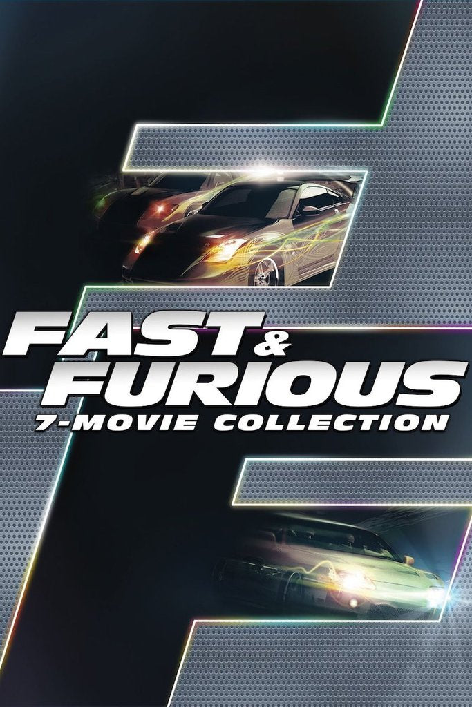 Fast & Furious 7-Movie Collection (Vudu HDX) - Multiple Options Available