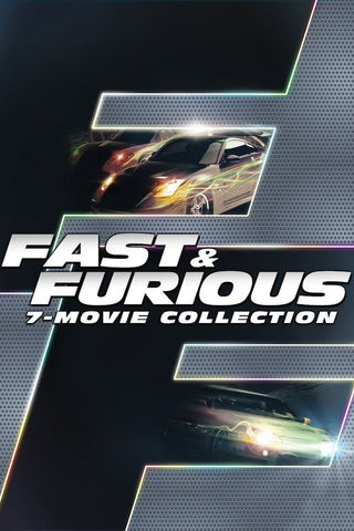 Fast & Furious 7-Movie Collection (UV HDX) - Multiple Options Available