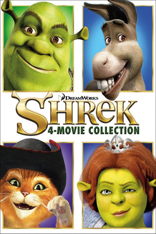 Shrek 4-Movie Collection (Vudu HDX) - Vudu Instawatch Redemption