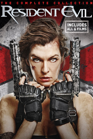 Resident Evil: The Complete Collection (UV HDX) - Vudu Instawatch Redemption
