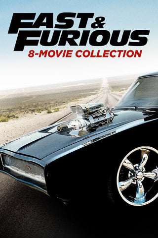 Fast & Furious 8-Movie Collection (Vudu HDX) - Multiple Options Available