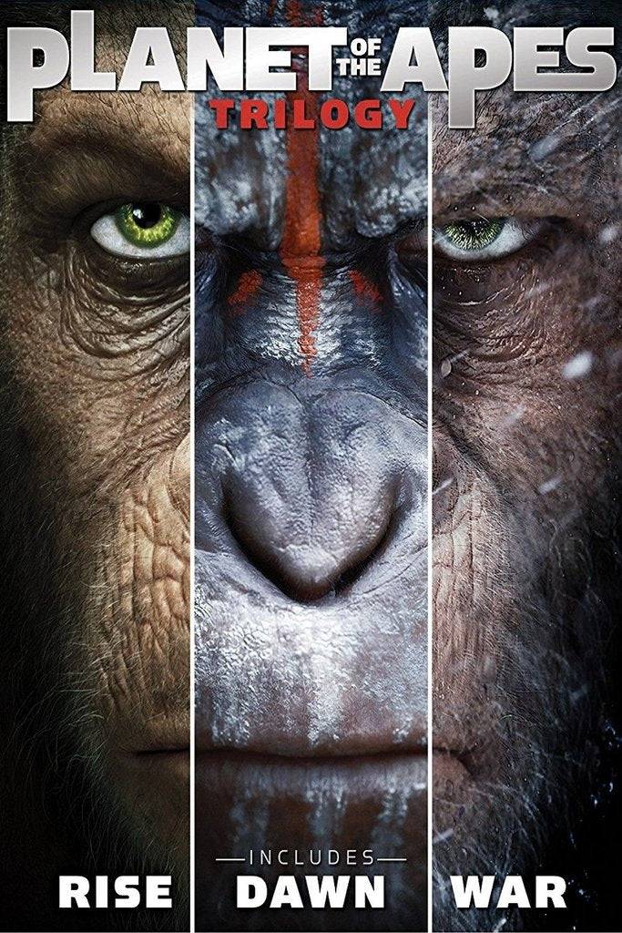Planet of the Apes Trilogy (Vudu HDX) - Multiple Options Available
