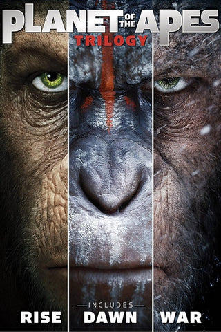 Planet of the Apes Trilogy (UV HDX) - Multiple Options Available