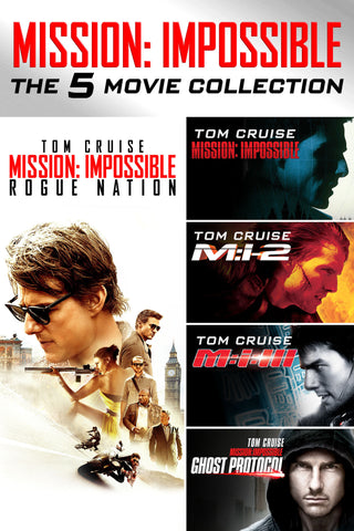Mission: Impossible 5-Movie Collection (UV HDX) - Multiple Options Available