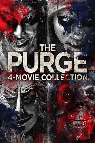 The Purge 4-Movie Collection (Vudu HDX) - Multiple Options Available