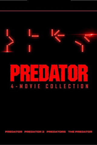 Predator 4-Movie Collection (Vudu HDX) - Pre-Release: Multiple Options Available
