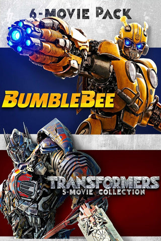 Bumblebee + Transformers 6-Movie Collection (Vudu HDX) - Multiple Options Available