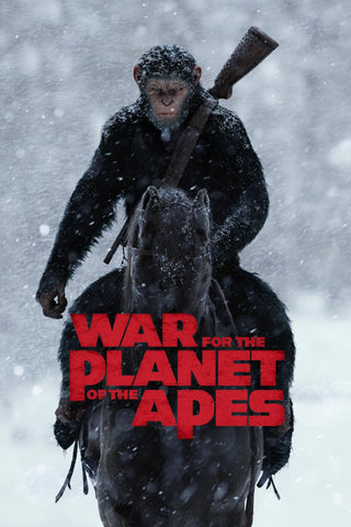 War for the Planet of the Apes (Vudu HDX or iTunes 4K)