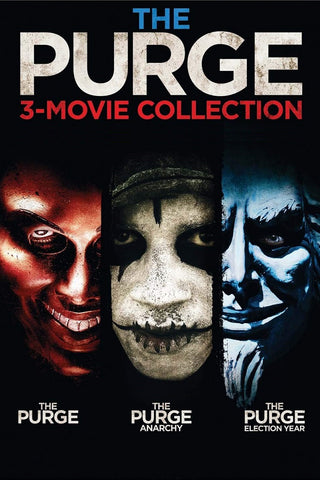 The Purge 3-Movie Collection (Vudu HDX) - Multiple Options Available