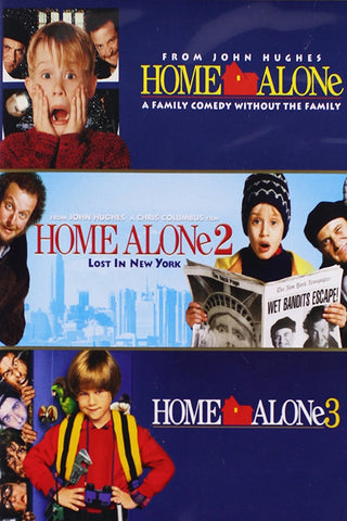 Home Alone 3-Movie Collection (UV HDX)