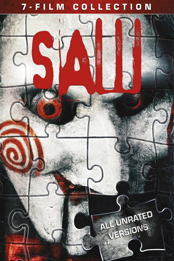 Saw 7-Film Collection (Unrated) (UV SD)