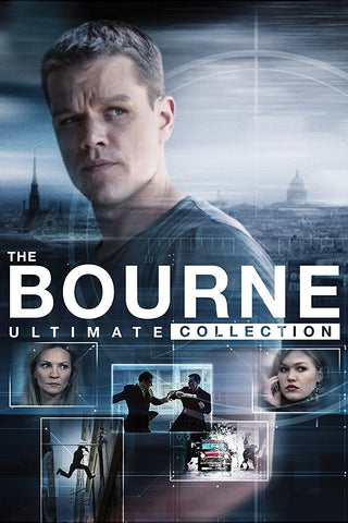 The Bourne Ultimate 5-Movie Collection (Vudu HDX) - Multiple Options Available