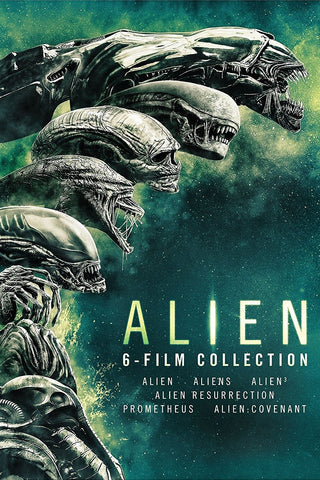 Alien 6-Film Collection (Vudu HDX) - Multiple Options Available