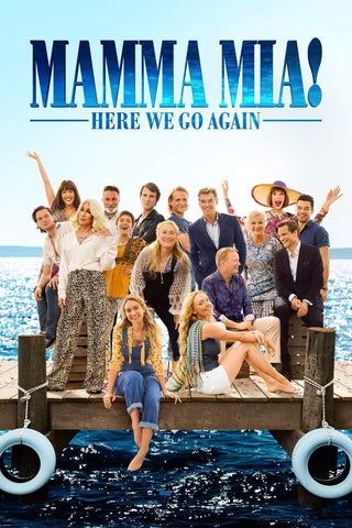 Mamma Mia! Here We Go Again (Vudu HDX) - Pre-Release: Multiple Options Available