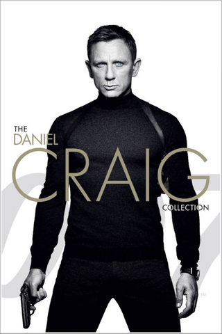 James Bond: The Daniel Craig 4-Film Collection (Vudu HDX) - Vudu Instawatch Redemption