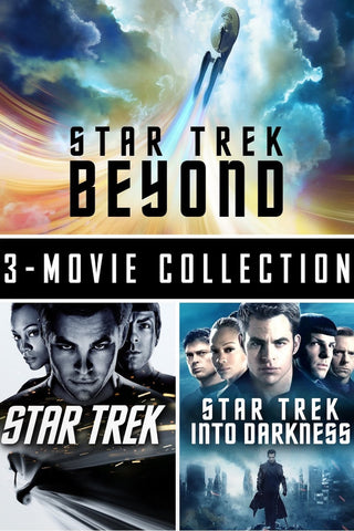 Star Trek Trilogy (Vudu HDX) - Multiple Options Available