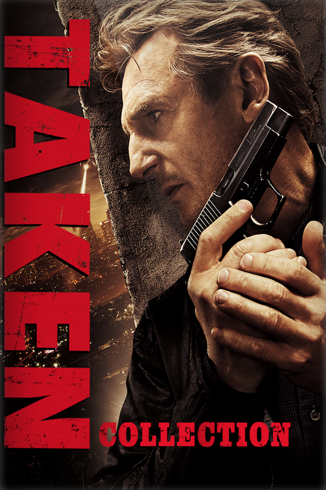 Taken 3-Movie Collection (Vudu HDX)