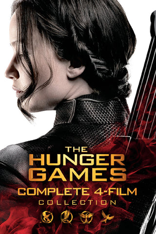 The Hunger Games Complete 4-Film Collection (Vudu HDX) - Multiple Options Available