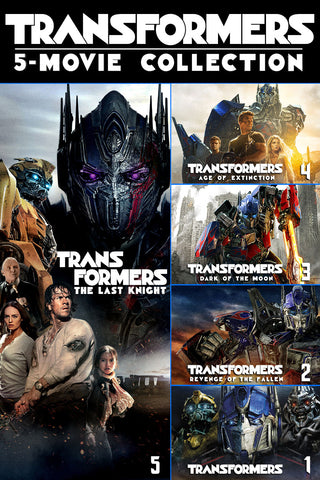 Transformers 5-Movie Collection (UV HDX) - Multiple Options Available