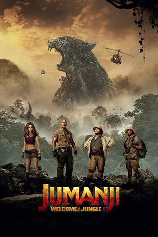 Jumanji: Welcome to the Jungle (UV HDX)