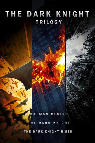 The Dark Knight Trilogy (Vudu HDX) - Vudu Instawatch Redemption