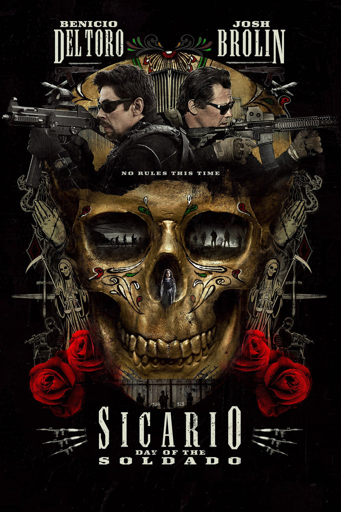 Sicario: Day of the Soldado (Vudu HDX) - Pre-Release: Multiple Options Available